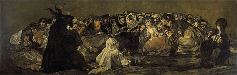 "{""author"":""Francisco%20de%20Goya"",""link"":""https%3A//commons.wikimedia.org/wiki/File%3AFrancisco_de_Goya_y_Lucientes_-_Witches%2527_Sabbath_%28The_Great_He-Goat%29.jpg"",""descr"":""""}"